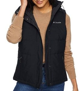 NWT Columbia Winter Challenger Warm Hooded Vest